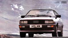 O Audi Quattro foi o primeiro modelo com tração integral quattro, precursor de uma vasta linhagem de super máquinas e tornou-se o maior mito da história dos ralis!  #tbt #vintage #Audi #AudiLovers #Love #AudiAutomovel #AudiCenterBH #Car #AudicenterBH #Auto