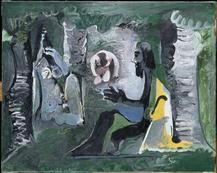 Pablo Picasso - Déjeuner sur l'herbe