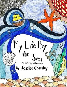 Introducing My Life By the Sea Adult Coloring Book Volume 1. Buy Your Books Here and follow us for more updates!