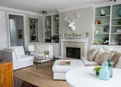 Foxed Mirror Coffee Table from west elm