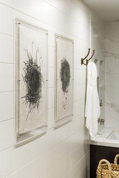 Hall Bathroom Remodel by R. Cartwright Design