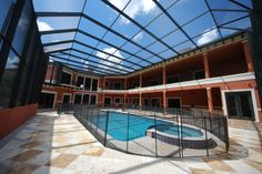 two story pool enclosure Pool Screen Enclosure, Screen Enclosures, Pool Enclosures, Two Story Windows, Second Story, Coastal, Outdoor Decor, Home, Swimming Pool Decks