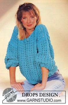 DROPS 6-17 Sweater - Free Knitted Pattern - (garnstudio)