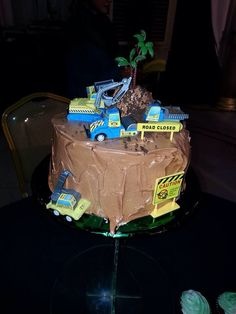 The Cake! Mining concept as per requested by the groom