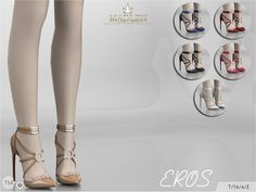 Madlen Eros Shoes You cannot change the mesh, but feel free to recolour it as long as you add original link in the description. If you can't see this creation in CAS, please update your game. If you're experiencing thumbnail problem, update your game...