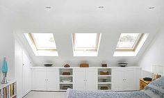 Sensual Attic storage liberty,Minimum attic renovation and Attic bedroom storage ideas. Loft Storage, Loft Conversion, Interior, Home, Bedroom Storage, Building A House, Bedroom Loft, Loft Room, Loft Spaces