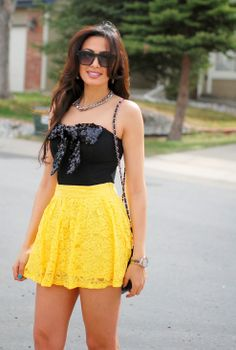 STYLE: Black & Yellow | Personal Style blog by Iman Oubou