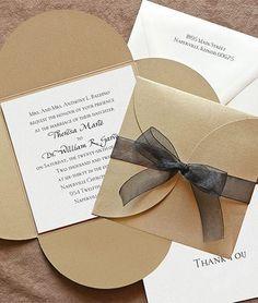 Descubre estos ejemplos de invitaciones de boda sencillas con las que podrás sorprender a todos tus invitados. Ideas modernas pero muy sutiles y discretas
