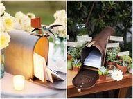 rustic wedding mailbox - Google Search