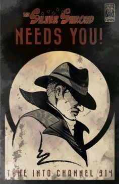 the silver shroud needs you #fallout