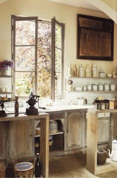 This is my French kitchen. No big.
