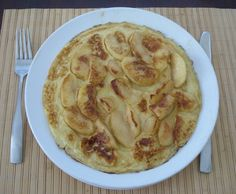 Apple Pancakes - Apfelpfannekuchen -German Recipes - German Food | My Best German Recipes