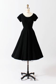 Black Beauty dress $188.00  sold by The Paraders