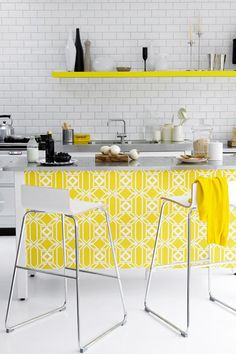 Sunshine Yellow   Kitchen Designs (houseandgarden.co.uk) Zitronengelb, Farbe  Gelb