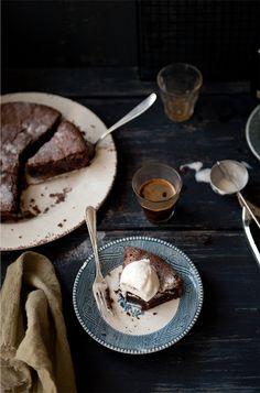 Irish Cream Chocolate Cake    ...pas si santé que ça, mais bon, une fois n'est pas coutume!  ...not so healthy, but hey, it's not a habit!