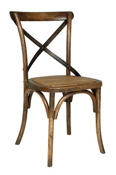 Poly and Bark Cafton Wood and Rattan Crossback Chair (Set of (Brown - Wood Finish), Beige Traditional Chairs, Brown Wood, Wishbone Chair, Rattan, Interior Inspiration, Home Furniture, Living Spaces, Dining Chairs, Sweet Home