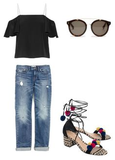 Untitled #3 by maggie-geoghegan on Polyvore featuring polyvore, fashion, style, Fendi, Madewell, Schutz, STELLA McCARTNEY and clothing