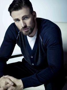 """chrisevansscruff: Chris Evans """"outtake"""" for Gucci Guilty Diamond"""