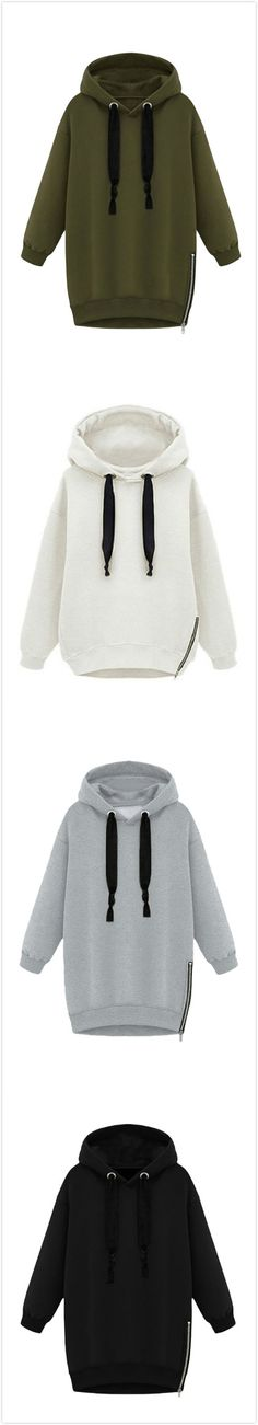 Women's Casual Letter Print Fleece Loose Drawstring Hoodie