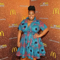 """Amber Riley on what it's like to not be a sample size in a sample-size world.   Chiming in with model Gabifresh's comment that plus celebrities have slimmer pickings than their """"straight-size counterparts,"""" Riley added """"Risking seeing other plus celebs wearing the same [poop emoji] on the carpet *throws up hands* we can't win [crying emoji]."""""""