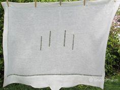 Hemstitched linen curtain, linen drawn-thread curtain,Sheer Linen curtain