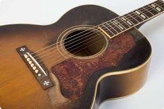 Gibson / J-185 / 1951 / Sunburst / vintage Guitar