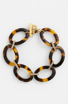 Lauren Ralph Lauren Tortoise Link Bracelet.