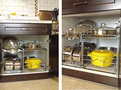Kitchen Cabinets That Store More Organizations Storage