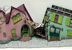 8c01a3dbb831 Hila Rosenberg dollhouse, it's fantastic...Look at the interiors, as well