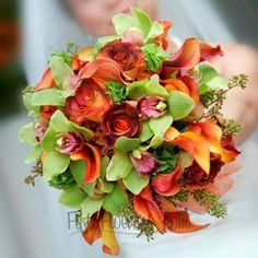 FiftyFlowers.com - Wedding Flower Pack 50 Roses and Cymbidium Orchids