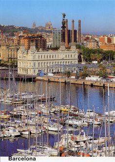 El Puerto, Barcelona,Spain. Lugar imprescindible si estas de visita en Barcelona!!