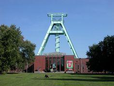 Das Bergbaumuseum in Bochum im Ruhrgebiet (NRW, Deutschland)