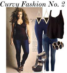 """Curvy Fashion No. 2"" by mollylescrenier on Polyvore"