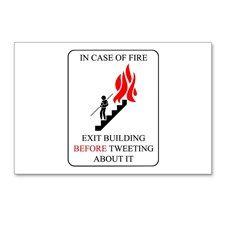 TWITTER FIRE Postcards (Package of 8) #Twitter #tweet #tweets #socialMedia