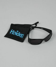 Take a look at this Black Epic Sunglasses by Haiden Surf on #zulily today!