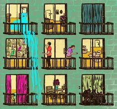 Who? Daniel Fishel / B. 1986  What? Illustrator, designer, hand letterer, Boston Terrier lover, casual bike rider, concert goer, teller of bad jokes, hopeless romantic, root beer snob.