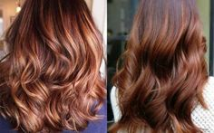 Glowing bronze - tendência para os cabelos neste inverno 2017.
