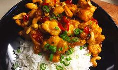 Kip cashew inspired by Toko Eddo - Guys Like Food Kung Pao Chicken, Tandoori Chicken, I Love Food, Good Food, Asian Recipes, Ethnic Recipes, Eclairs, Slow Cooker, Menu