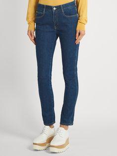 Mid-rise skinny-leg jeans | Stella McCartney | MATCHESFASHION.COM US
