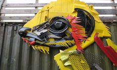 Big Trash Animal by Bordalo II