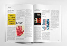 Journalisten Magazine by Phong Phan, via Behance