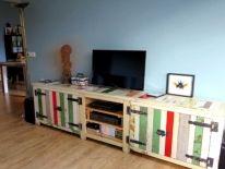 Audio/ tv-meubelen van sloophout | de steigeraar uw meubel van sloophout