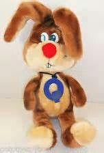 Nestle quik bunny plush. He is a very sweet stuffed bunny.