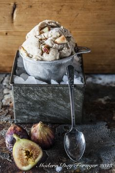 Figgy Ice Cream by Modern Day Forager