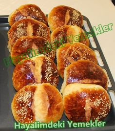 Plain Yogurt with Yogurt - Poğaçalar - French Toast Greek Cooking, Cooking Time, Lunch Recipes, Cooking Recipes, Savory Pastry, Tea Time Snacks, Arabic Food, Turkish Recipes, Food Humor