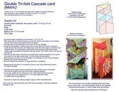 Card Templates :: Dbl Tri-fold Cascade image by d0npen - Photobucket