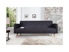 Sofa Scandinavia 200cm ciemnoszara — Sofy Invicta Interior — sfmeble.pl