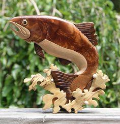 Brad Eklund. Fish Intarsia