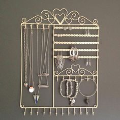 A jewelry hanger