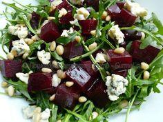 Салат из свёклы с рукколой и сыром. Рецепт с фото. Пошаговые фотографии. Gurmel